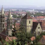 Blick auf Arnstadt mit Liebfrauenkirche