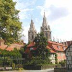 Blick vom Kristanplatz auf die Divi-Blasii-Kirche