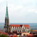 Blick vom Stadtberg auf die Marienkirche