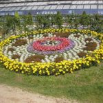 Blumenuhr Greizer Park
