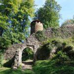 Burgruine Scharfenberg in Kittelsthal