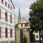Lattermanngasse mit Blick auf Marienkirche Foto Stadtverwaltung