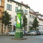 Persiluhr in der Görmarstraße Foto Stadtverwaltung